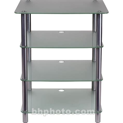 Sanus Audio Rack by Sanus 33 Quot Height 4 Shelf Audio Rack Glass Afag B H Photo