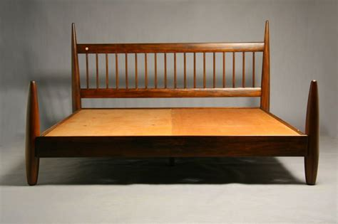 King Size Wooden Bed Frame King Size Wood Bed Frame By Sergio Rodrigues At 1stdibs