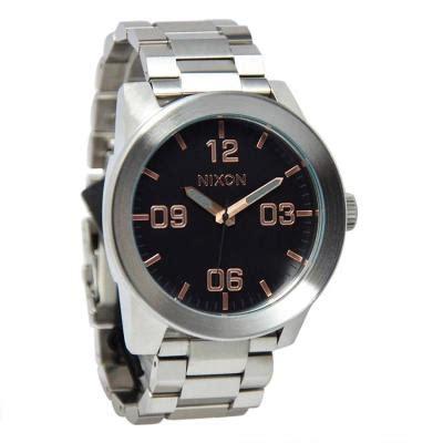 Jam Tangan Nixon Ruron Rosegold harga nixon jam tangan pria silver stainlees steel