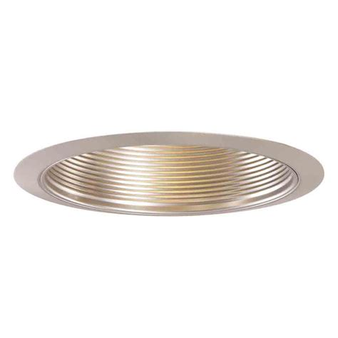 halo 5001sn satin nickel metal baffle and trim ring 5 inch