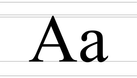 Letter Wiki File Cyrillic Letter A Uppercase And Lowercase Svg Wikimedia Commons