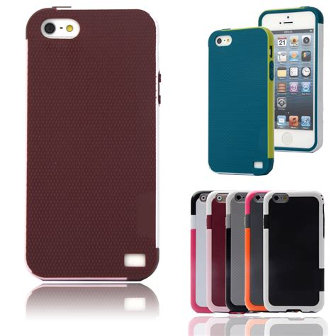 Armor 360 Protective Soft Back Iphone 5 5s Se Cover color armor soft tpu hybrid back for apple iphone 5 5s shockproof cell phone