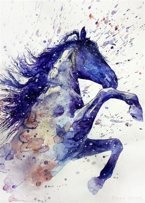 watercolor horse tattoo watercolor paint idea best designs