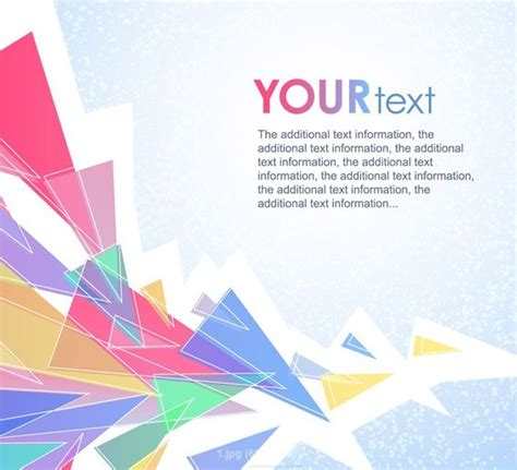 triangle pattern corel free colorful abstract triangles background vector titanui