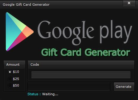 Gift Card Codes For Google Play - free google play code generator apk exe 2017