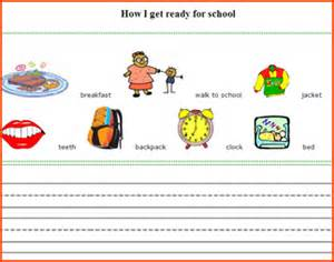 first grade writing worksheets free writing activies for kids