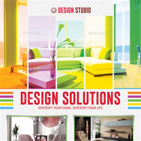 25 Great Interior Design Flyer Templates Interior Design Flyer Template