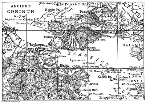map of corinth said another way the third sunday after the epiphany