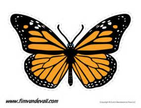 printable butterfly templates and butterfly shapes