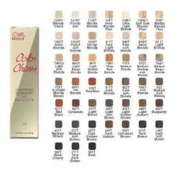 wella color charm toner color chart wella color charm hair color chart permanent