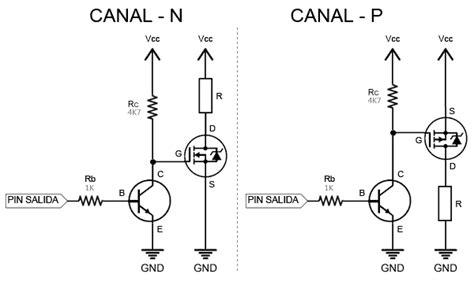 driver de transistor mosfet controlar grandes cargas con arduino y transistor mosfet