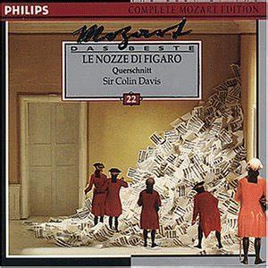 Best Recording Of Marriage Of Figaro Wolfgang Amadeus Mozart Sir Colin Davis Symphony Orchestra Jessye Norman
