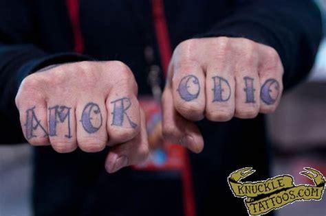 knuckle tattoo numbers lyme disease