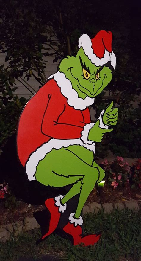 the grinch is stealing your decorations what do you do
