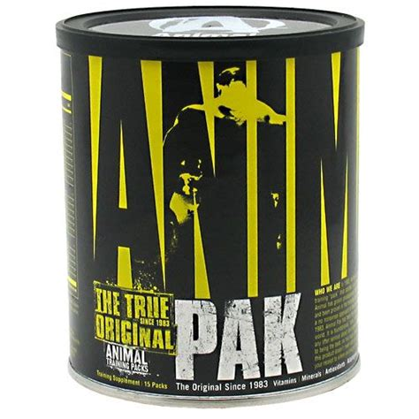 Universal Nutrition Animal Pack 15 comprar universal nutrition animal pak 15 packs