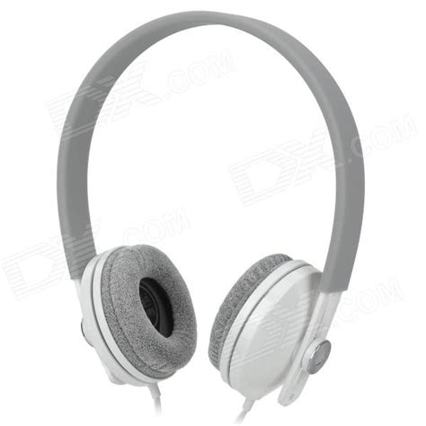 Resong Q12 Bass Wired Headset Grey gorsun gs c7705 wired dynamic stereo bass headphones