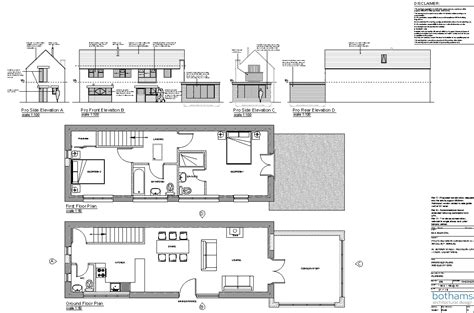 barn to house conversion plans barn conversion weston on trent bothamsdesign co uk