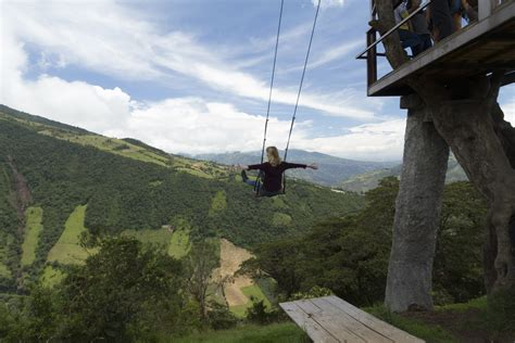 banos swing top 10 places to visit in ecuador the viking abroad