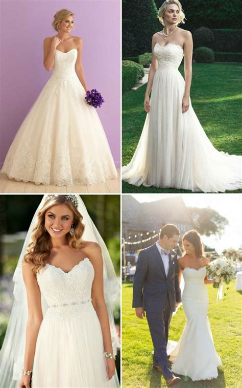 Wedding Hair With Dress by Best Hairstyles For Strapless Wedding Dress Hairstyles