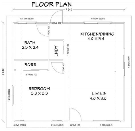 1 bedroom granny flat floor plans new one bedroom 50m2 granny flat brisbane granny flat