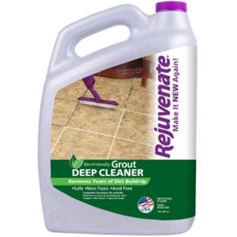 rejuvenate 128 oz bio enzymatic tile and grout