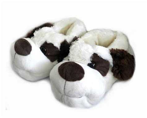 slippers for dogs fuzzy animal slippers for white dogs in slippers from