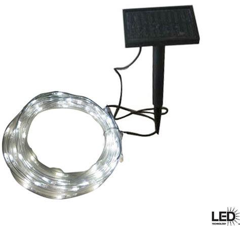 Solar Outdoor Rope Lights 16 Ft Solar Led Rope Light Outdoor Garden Patio Lawn Exterior Lighting New Ebay