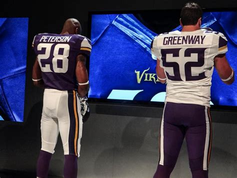 Gamis Jersey Gm Jersey1 minnesota vikings unveil new nike uniforms photos bso