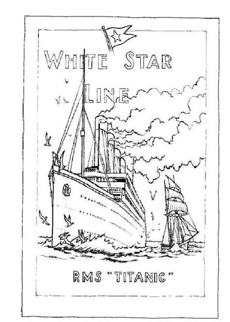 titanic underwater coloring pages titanic for kids coloring pages