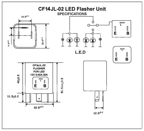 Lcd 03 Doubel Lcd Dobel Tip Lcd cf14 jl 02 led knipperlicht relay