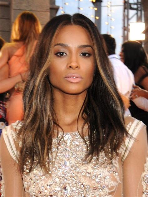 african american highlights ombre hair color ideas black brown blonde and red ombre