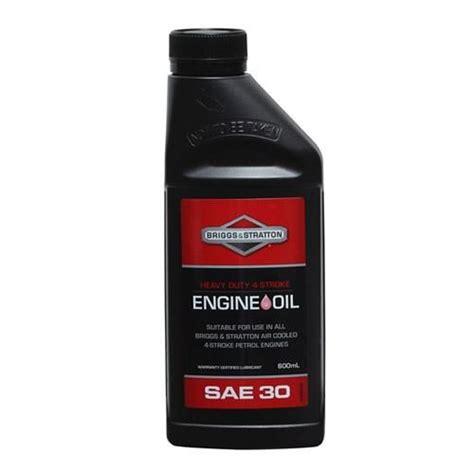 briggs stratton sae oil  litre small engine warehouse australia
