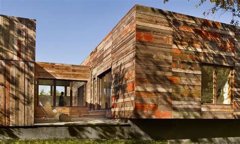 Vernacular inspired Delaware home built with recycled barn