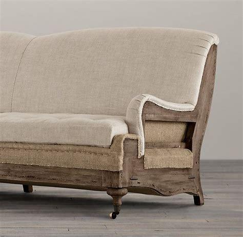 restoration hardware english roll arm sofa reviews deconstructed english roll arm sofa restoration hardware