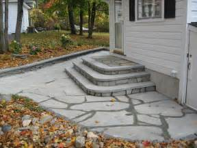 Front Patios Design Ideas Bluestone Patio Amp Step Design Averill Park Ny