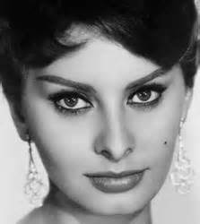 best haircut for recessed chin curly hair sophia loren