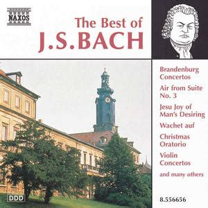 best bach the best of j s bach classical archives