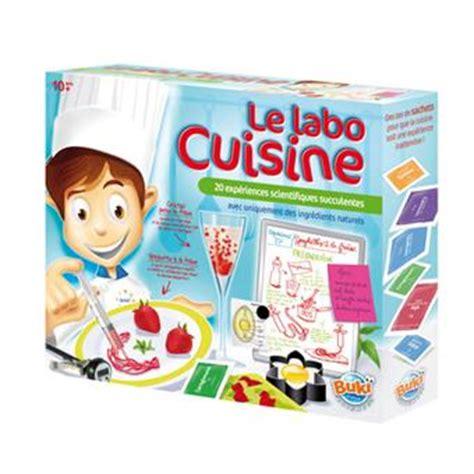jeux de cuisine fran軋is buki labo cuisine jeux scientifiques acheter sur fnac com