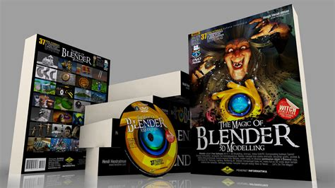 Berkualitas The Magic Of Blender 3d Modelling 37 Total Tutorials buku blender 3d tutorial blender bahasa indonesia modelling 3d animasi 3d render the magic