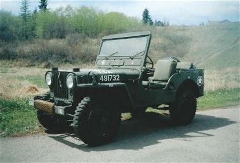 Willys Jeep For Sale Bc 1952 Willys M38 Jeep For Sale Okotoks Collector