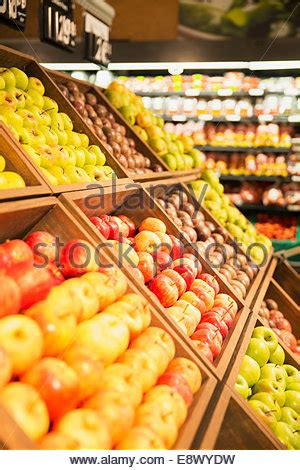 sections of a grocery store the fresh market grocery store in south carolina usa