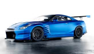 Nissan Skyline From Fast And Furious Fast And Furious 6 Blue Nissan R35 Gt R Gtspirit