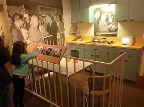 Nixon Kitchen Debate by Exploring Southern California Naval History At The Uss Iowa Nixon Presidential Library
