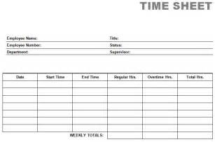 Printable Time Card Template Printable Blank Pdf Time Card Time Sheets