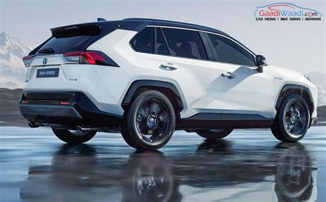 2019 toyota rav4 hybrid more powerful 2019 toyota rav4 hybrid graces motor show