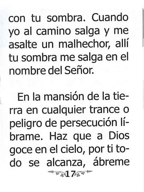 Oración a la Sombra de San Pedro - Spanish Oracion