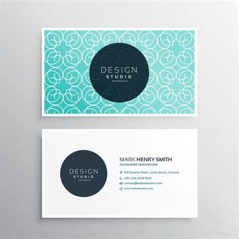 cute business card template free download images card