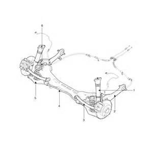 Hyundai Elantra Rear Suspension Hyundai Elantra Components And Components Location Rear