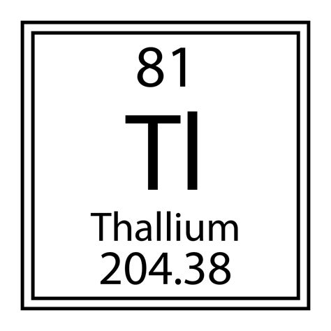 Tl Periodic Table by Thallium Detection Chemsee