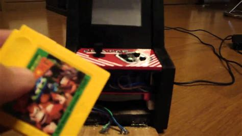 gameboy arcade mod gameboy advance sp mini arcade cab mod quot gba cab quot youtube